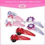 hair accessories wholesale resin purple design plastic flower men's hair clips china