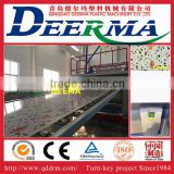 Plastic PVC Marble Panel Machine With SIEMENS PLC Control / Artificial Marble Sheet Machine