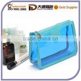 Cheap Clear PVC High Quality Makeup Cosmetic Bag Promotional Transparent Wash Waterproof Toiletry Bag