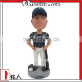 personalized resin baseball bobblehead
