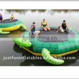 turtle inflatable water trampoline commercial grade