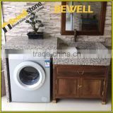 Bewell Wholesale tope quality packed bathroom vanity box packed commercial bathroom vanity tops