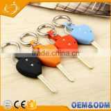 Beautiful Shape And Artful Design, Easy To Take With Silicone Car Key Cover Keychain For Toyota