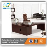 Made in China Office Furniture White Leather Office Desk Set PT-4