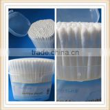 liquid filled plastic sterile alcohol cotton swab