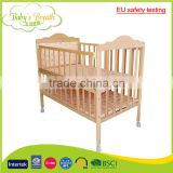 WBC-04B EU safety testing standards softtextile baby carriage crib wheels