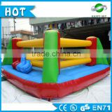 Durable 3*4m, 4*5m giant inflatable boxing platform price inflatable children playground for amusement park, UA,RU buyer like it