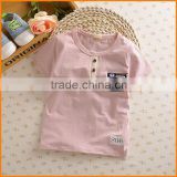 Korean children's clothing wholesale trade and Tong Chunmian WeChat Korea children T-shirt button coat agent