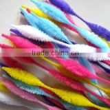 DIY Educational Toy Bright Color Jumbo Bump Pipe Cleaners