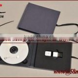Wedding Leather USB DVD Case Linen
