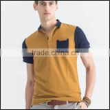 wholesale new design two color dry fit and cheap polo t shirt design for men and made in China                                                                         Quality Choice