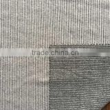 polyester40% cotton60% knit grey needle fabric, knit cotton polyester rib fabric for clothes