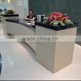 kingkonree custom made solid surface office building reception desk