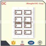 14443A 1K Compatible Chip Fudan F08 RFID Card Inlay Sheet