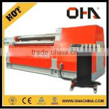 "INT'L ""OHA"" Brand Four Roller Bending Machine W12-20x2500, CNC Rolling Machine, pie dough rolling machine"