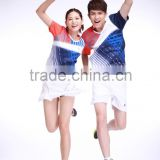 new style Professional customized ,Badminton wear shirt WS-16222