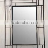 wrought iron framed mirrors,Wall Mirror Frame ,Decorative Mirror Frame,designer metal mirror frame,fancy mirror frames