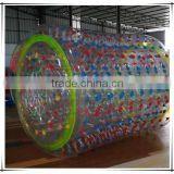 High quality and cheap water walking roller, inflatable rolling ball, inflatable fun roller