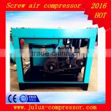 12.5 bar 30kw AC power frequency repair oil less China rotary screw air compressor made in China                                                                                                         Supplier's Choice