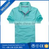 plain dyed Guangzhou cotton polo shirt dress for women                                                                         Quality Choice