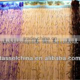 Latest bamboo string curtain, fashion polyester yarn window door curtain