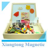 Wonderful Versatile Painted Wooden Magnetic Jigsaw Puzzle for Children toy                                                                         Quality Choice