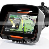 "Waterproof 4.3"" motorcycle gps navigation with CE/RoHS certification"