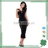 newest most popular sexy strap hollow out bodycon good strect one piece bandage women wear