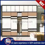 Home furniture bedroom wardrobe door design closet sliding door wooden wardrobes cabinet modern model wardrobe door fittings