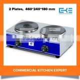 Portable Table Top 2 Heads Electric Hot Plate Stove Cooking Hot Plate