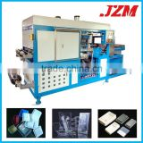 Automatic Sheet Feeding Plastic Food Container Fruit Tray Forming Machine