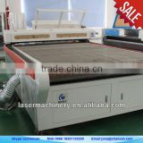 chanxan brand! CNC fabric cutting and engraving laser bed with auto feeding system Skype:nancyhyy88