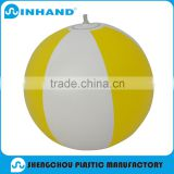 2016 factory made Yellow pvc Inflatable Beach Ball/water ball/ball toys/giant ball for promotion