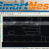 best price 2014 newest nesting software SmartNest for CNC cutting controller