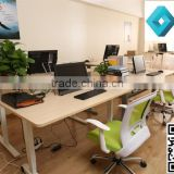 Brand new office furniture supplier melamine tablecherry wood office desk with low price
