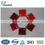 Advertising Sign Boards Red Colored Cast Acrylic Sheet Plastic for Sale