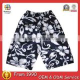 Boys' fashional cheap cotton short beach pants