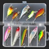 5 Styles Multi Fishing Lure Mixed Colors Metal Spoon