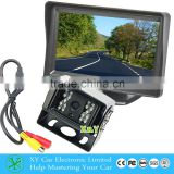 very popular night vision hd rear view camera, waterproof ccd cameras for 24V bus/truck XY-03