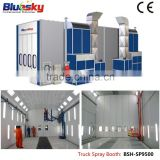 BSH-SP9500 CE approved auto workshop equipment/large spray booth/truck spray booth