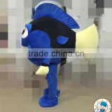 2016 Blue fish mascot costume for sale