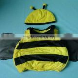 Plush Cute bee costume Baby Halloween Cloth Toys For kids