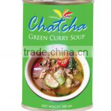 Green curry soup 400 ml tin canned