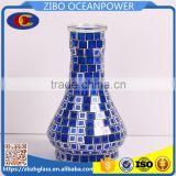 Arbia mosaic cover glass shisha base