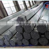 15*0.6mm ERW welded galvanized steel pipe,black round pipe