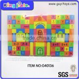 Durable using low price toys rubber building blocks