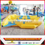 Hot selling inflatable flying fish tube towable for sale (6 seats)