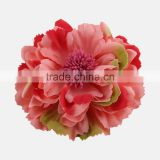 Adult novelty fabric flower both hair clip and brooch,fabric flower brooch corsage for girls