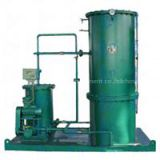 Oily water separator for waste water of engine oil, machine oil, diesel oil, petrol, lubricant, and heavy oil