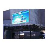 Stage Background P6 Outdoor Full Color LED Display Video Wall , Synchronous / Asynchronous